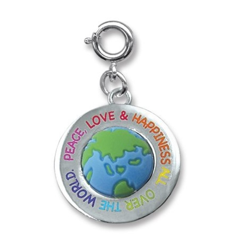 Charm it all over the world peace love and happiness charm charm it all over the world peace love happiness aloadofball Image collections