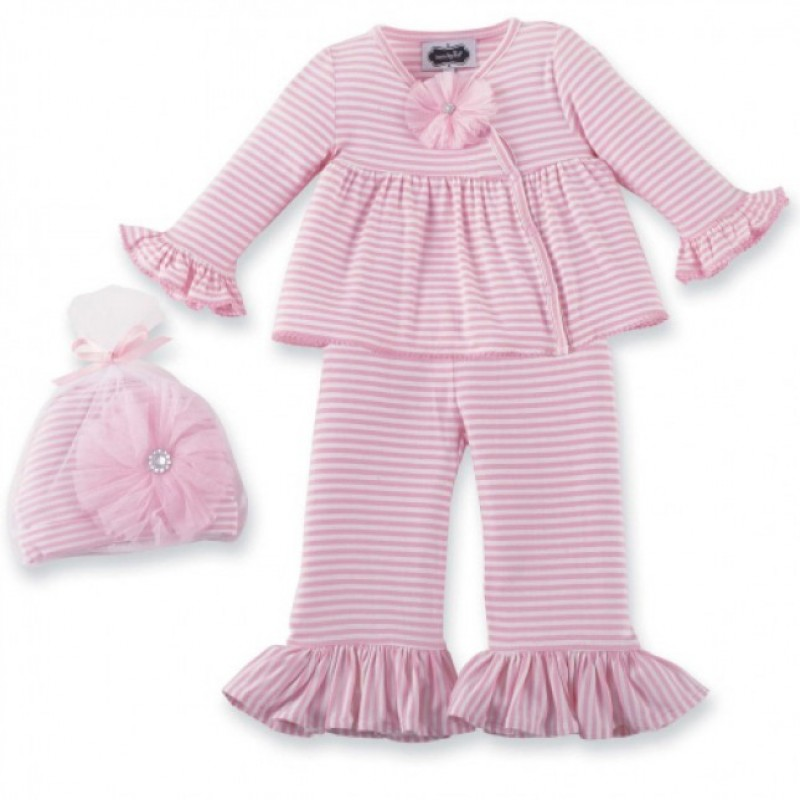 321b44ea6 Mud Pie Take Me Home Outfit Baby Girl