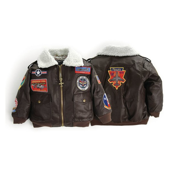 Up & Away Brown Bomber Jacket